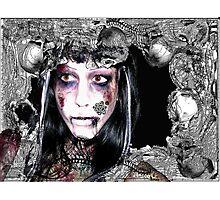 Undead Necromancer Photographic Print