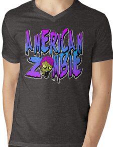 American Zombie Wild Mens V-Neck T-Shirt