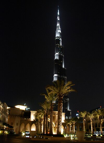 Burj Khalifa... the tallest building in the world by mojgan