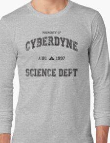 CyberDyne Science Dept Vintage (Terminator) Long Sleeve T-Shirt