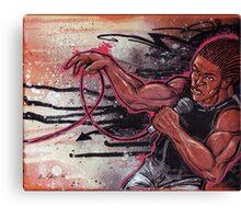 Emcee Canvas Print