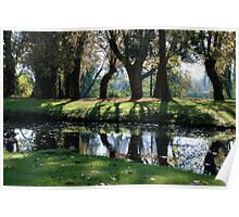 A Calm River in France Poster