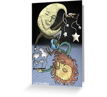 The Moon and the Sun Greeting Card