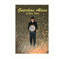 MY BOOK GUARDIAN ALIENS COVER Art Print