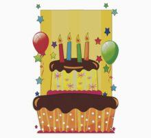 Happy Sunny Birthday TShirt  Kids Tee