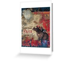 Leap of Faith Greeting Card