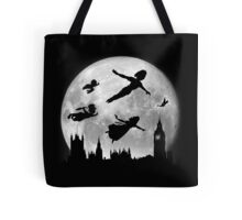 Full Moon over London Tote Bag