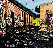 Old Brick Works - Pumpherston by astrawally