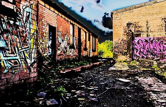 Old Brick Works - Pumpherston by astrawally