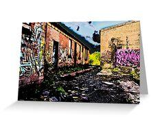 Old Brick Works - Pumpherston Greeting Card