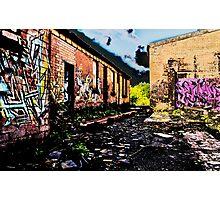 Old Brick Works - Pumpherston Photographic Print
