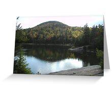 Crane Mountain  Greeting Card