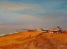 Hythe Kent, The fishermen's beach by Beatrice Cloake