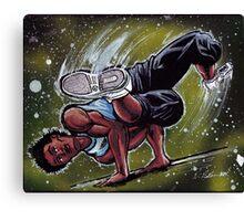B-Boy Stance Canvas Print
