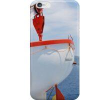 Greek ferry lifeboat, Skiathos iPhone Case/Skin