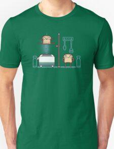 Breakfast high jump  Unisex T-Shirt