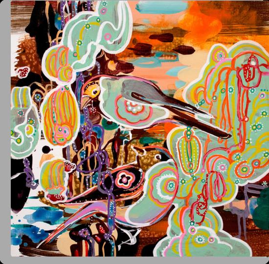 birds (new II) by Randi Antonsen