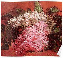 Lilacs by Vincent Van Gogh Poster