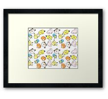 Kawaii Pokemon  Framed Print
