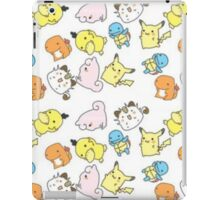 Kawaii Pokemon  iPad Case/Skin