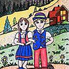 Peter and Heidies Alm by Monica Engeler