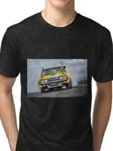 DRIBLZ Tread Cemetery Burnout Tri-blend T-Shirt