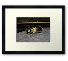 Best Friend Forever - BFF Framed Print