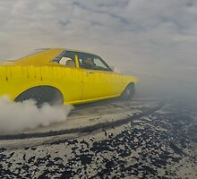 DRIBLZ Bairnsdale Dragway Burnout by VORKAIMAGERY