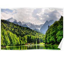 German Mountain Poster
