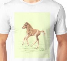 Red Pony Foal Unisex T-Shirt