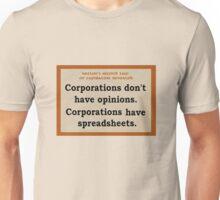 2nd law of capitalism revealed Unisex T-Shirt
