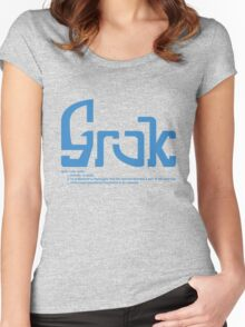 GROK Women's Fitted Scoop T-Shirt