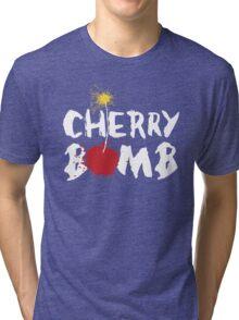 cherry bomb Tri-blend T-Shirt