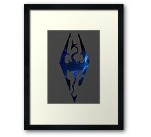 Galaxy Skyrim  Framed Print