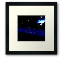 Enter the Wormhole Framed Print