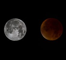 Blood Red Super Moon Eclipse by captureasecond
