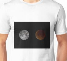 Blood Red Super Moon Eclipse Unisex T-Shirt