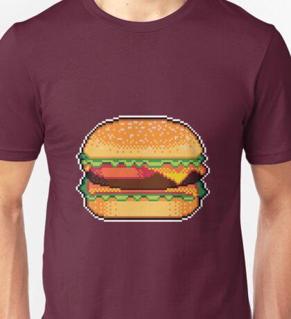 Pixel Burger Unisex T-Shirt