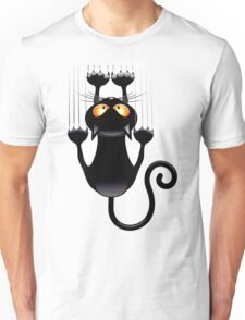 Clings cat Unisex T-Shirt