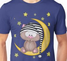Cat moon dream Unisex T-Shirt