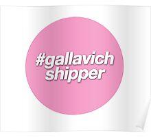 #gallavich shipper - pink - Gallavich - Shameless US Poster