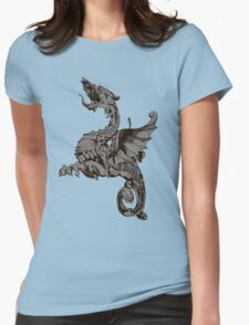 Dragon art Womens Fitted T-Shirt