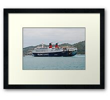 Express Pegasus ferry Framed Print