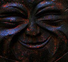 stone face by loralea