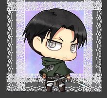 Lacy Chibi Levi  by crossedanchor