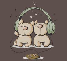 Cats & music Baby Tee