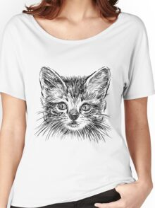 Cat art Women's Relaxed Fit T-Shirt