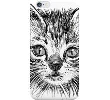 Cat art iPhone Case/Skin