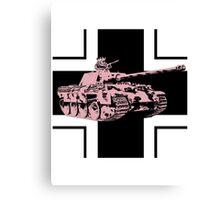 Funny tank Canvas Print