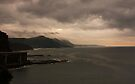 Stormy Seacliff morning by Odille Esmonde-Morgan